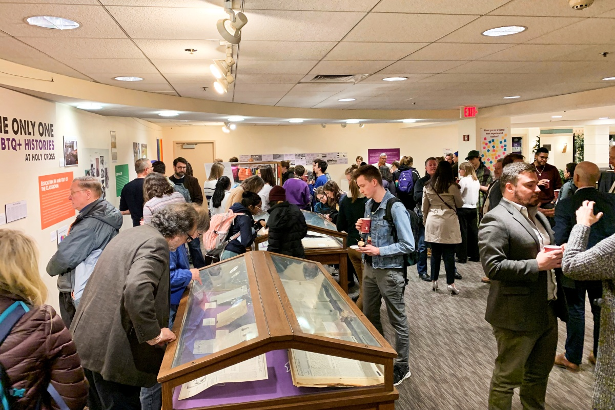 I'm Not The Only One: LGBTQ+ Histories at Holy Cross Exhibit